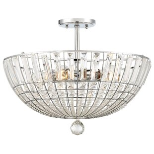 Needham Market 5-Light Semi Flush Mount by House of Hampton