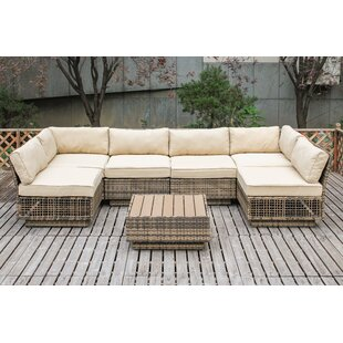 Alaia 7 Piece Sectional Set with Cushions
