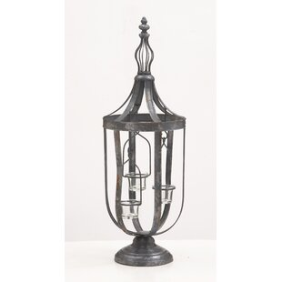 Find Metal Glass Lantern By Darby Home Co