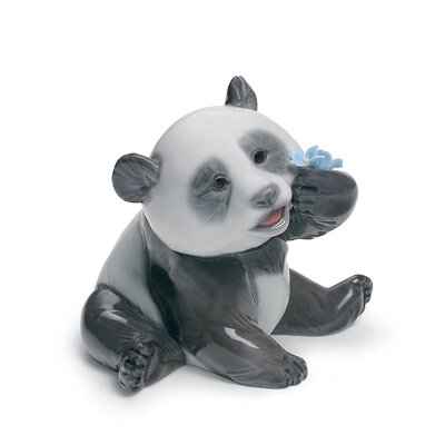 A Happy Panda Figurine Lladro -  01008357