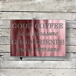 Good Coffee Wall Décor