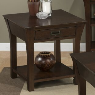 Robbs End Table by Red Bar..