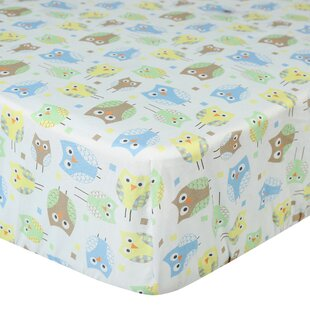 Budget Mod Owls Fitted Crib Sheet ByLaugh, Giggle & Smile