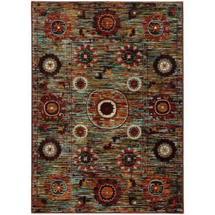 Looking for Aydan Tribal Red/Green Area Rug By Bungalow Rose