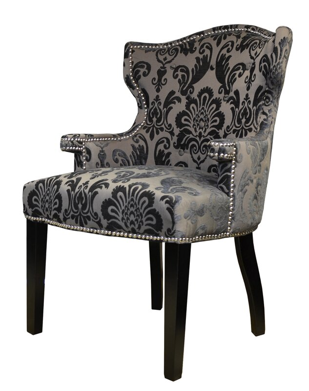 HD Couture Brittania Wingback Chair & Reviews