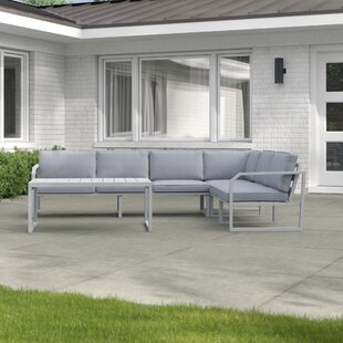 South Shields 6 Seater Corner Sofa Set By Sol 72 Outdoor