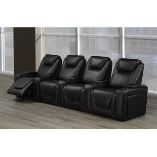 Home Theater Sofa (Row of 4) by Red Barrel Studio