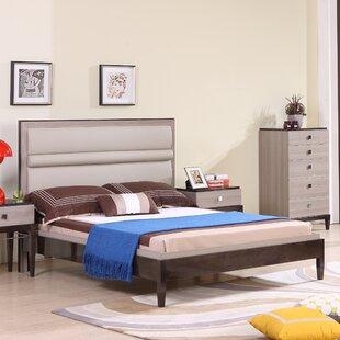 Tucanae Upholstered Platform Bed by Brayden Studio