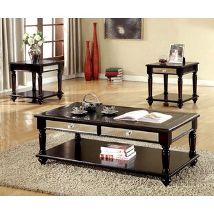 Marcus 3 Piece Coffee Table Set by Rosdorf Park