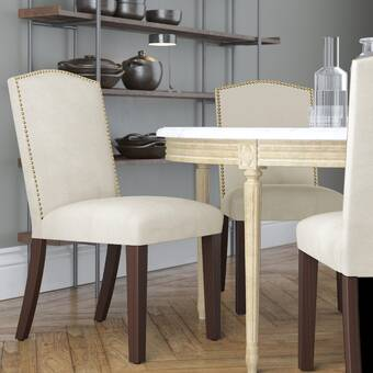 Orren Ellis Patricia Upholstered Dining Chair Reviews Wayfair