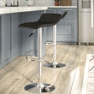 Noriega Adjustable Height Swivel Bar Stool by Orren Ellis