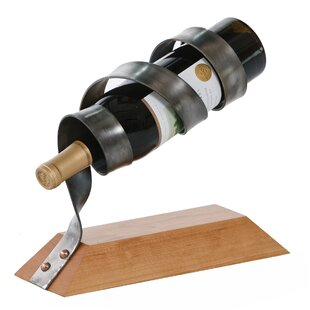Tamera Spiral 1 Bottle Tabletop Wine Rack..