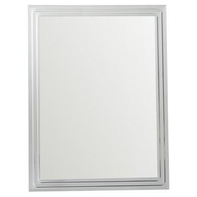 Brayden Studio Tetbury Frameless Tri Bevel Wall Mirror