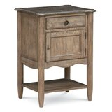 Morrisville 1 Drawer Nightstand by August Grove®