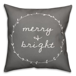 Varennes Merry and Bright Throw Pillow
