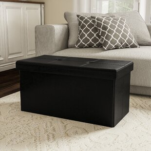 Charland Tufted Storage Ottoman by Charlton Home