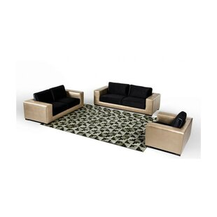 Cana 3 Piece Living Room Set by Orren Ellis
