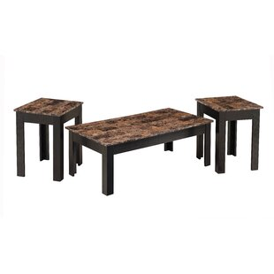 Simmons Casegoods Hopkins 3 Piece Coffee Table Set Latitude Run