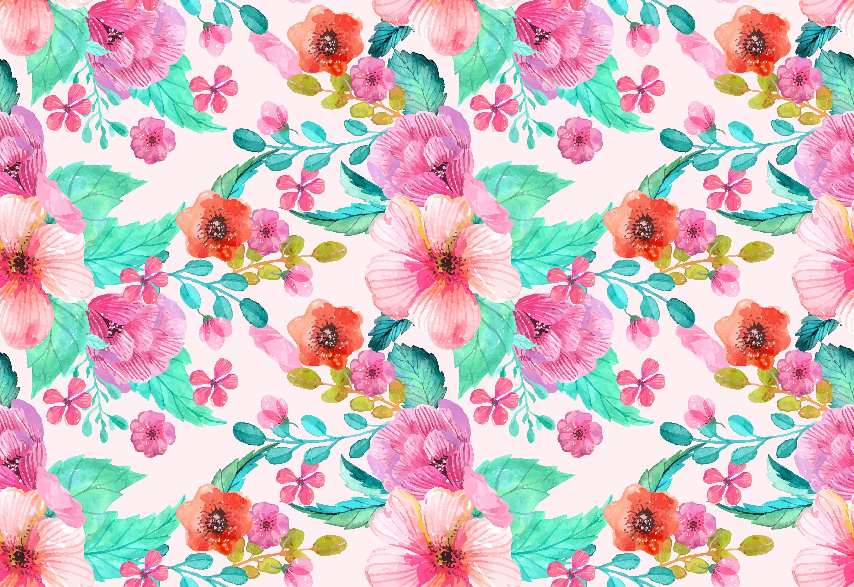 Wrought Studio Leighton Removable Vintage Floral Nursery 7 17 L X
