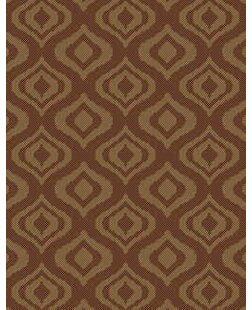 Ikat Brown Indoor/Outdoor Area Rug