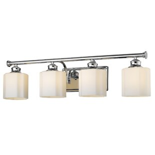 Find for Hirschman 4-Light Vanity Light By Charlton Home
