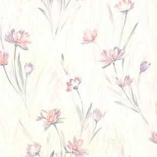 Shabby Chic Floral Wallpaper Wayfair