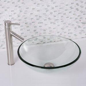 wayfair bathroom sinks. Circular Vessel Bathroom Sink Sinks Sale You ll Love  Wayfair