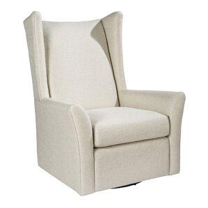 Kent Swivel Wingback Chair by Palatial Furni..