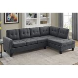 Louden 98 Right Hand Facing Sofa & Chaise by Red Barrel Studio®