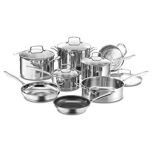 Set 3 Flakes Steel Lava plates and pots with Handle
