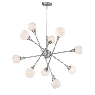Brayden Studio Silvernail 10-Light Chandelier
