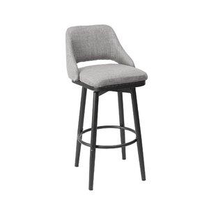 Nalston Adjustable Height Bar Stool by Wrought Studio