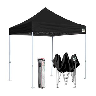 Eurmax Commercial 8 Ft. W x 8 Ft. D Steel Pop-Up Canopy
