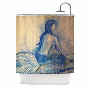 Compare Mer-Maid? Huh... Shower Curtain ByEast Urban Home