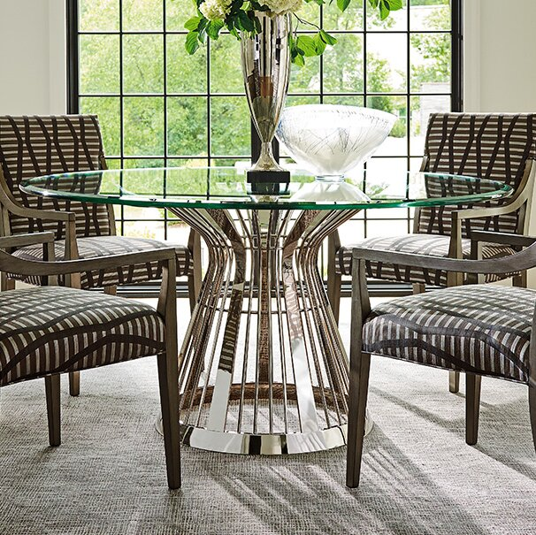 Ariana Riviera Gl Top Dining Table