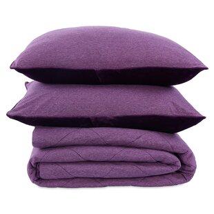 Jersey Reversible Comforter Set