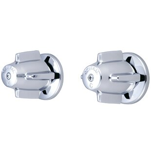 Central Brass Double Handle Valve Set
