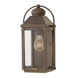 Anchorage Outdoor Wall Lantern by Hinkley Lighting Great Reviews
