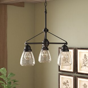 Harborcreek 3-Light Shaded Chandelier by Laurel Foundry Modern Farmhouse