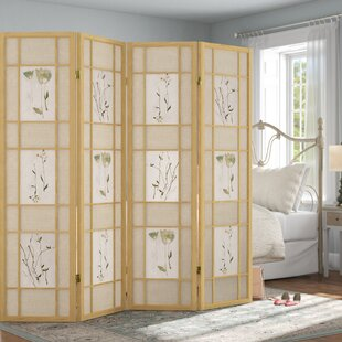 Ophelia & Co. Grimmett Shoji 4 Panel Room Divider