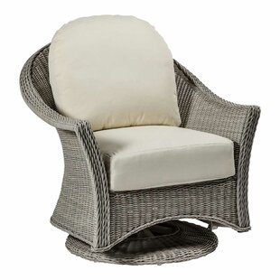 Regent Swivel Glider Chair with Cushions by Summer Classics
