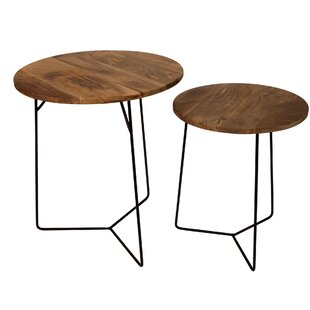 Holman 2 Piece Nesting Tables by Williston Forge