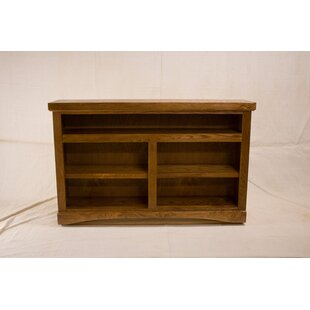 Cureton 2 Shelf Traditional Standard Bookcase