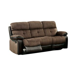 Viergeline Leather Reclining Sofa by Red Barrel Studio