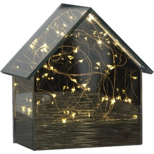 15-Light Black Mirror House Lamp By The Seasonal Aisle