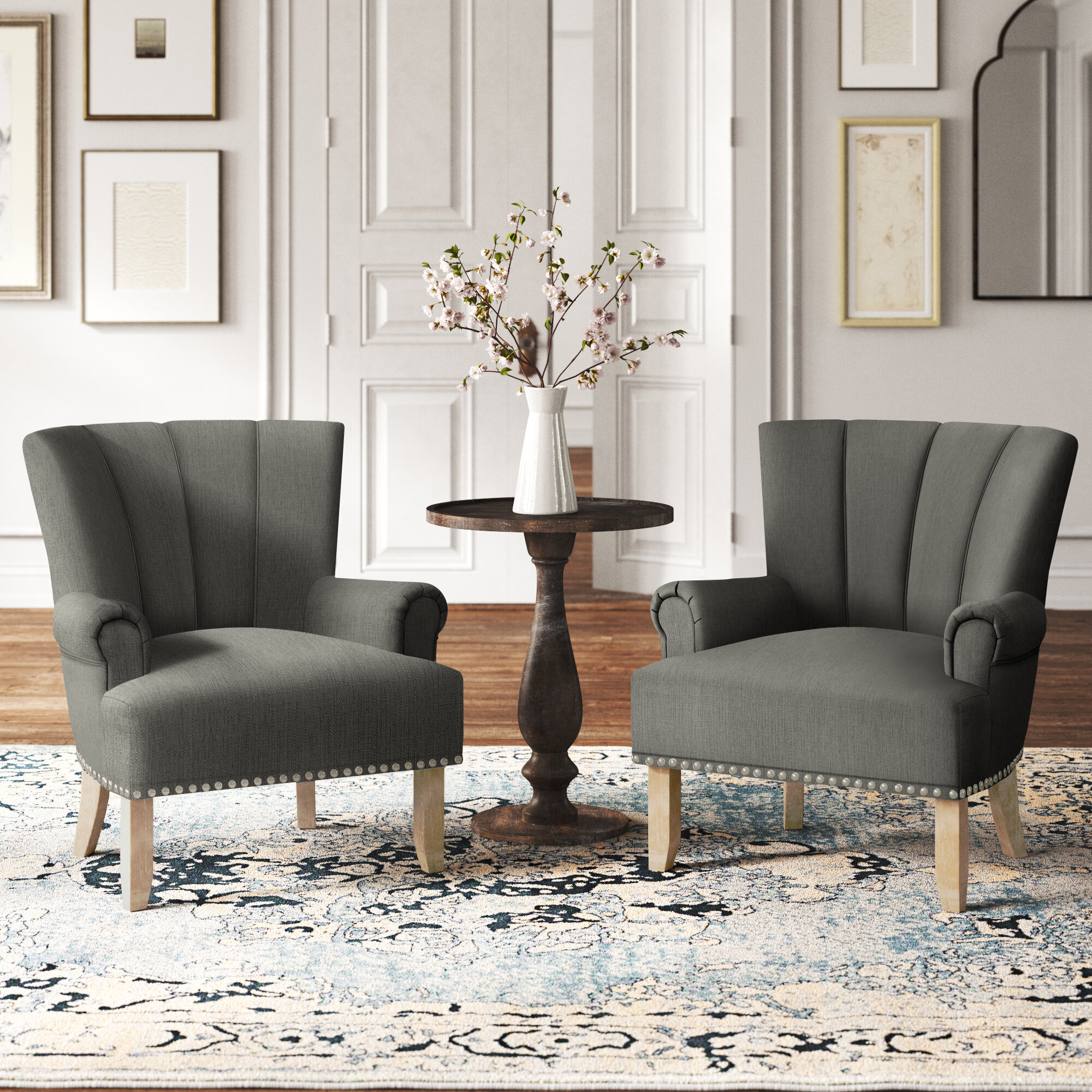 Picture of: Chair Set Accent Chairs You Ll Love In 2020 Wayfair