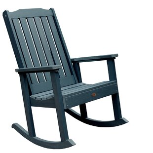 Phat Tommy Lynnport Teak Rocking Chair by Buyers Choice