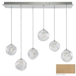 Fine Art Lamps Nest 6-Light Kitchen Island Pendant