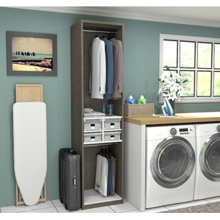 Affordable Wilbur 19.5 W Closet System By Rebrilliant