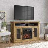Arabi TV Stand for TVs up to 55 with Fireplace Included by Darby Home Co